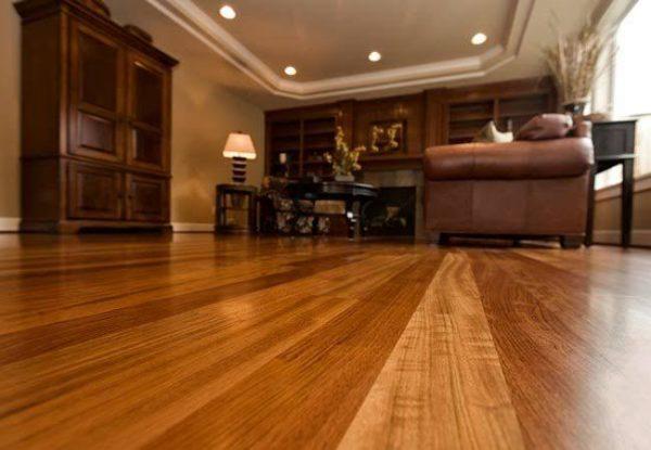 decoración con pisos de madera