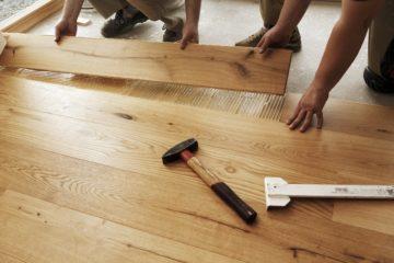 instalación de pisos de madera en duela