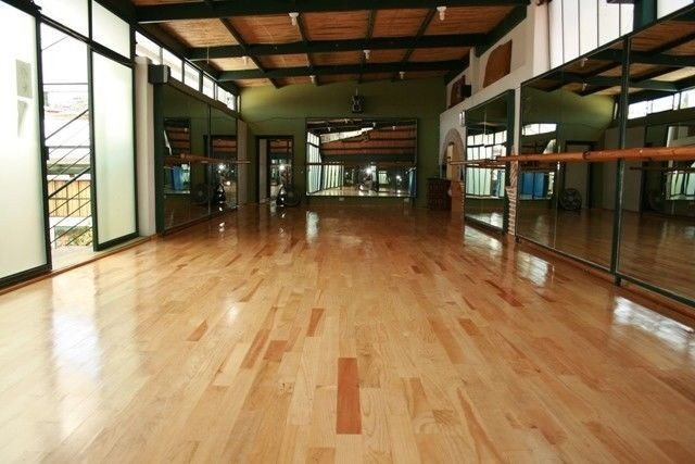piso de madera de pino