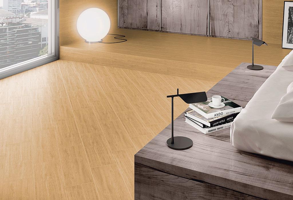 piso de madera fresno