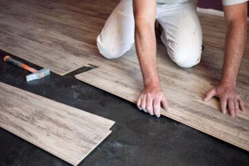 colocación de pisos laminados