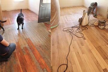 reparacion y pulido de pisos de madera
