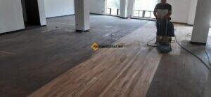 restauración y lijado de piso de madera